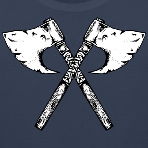 the viking axe - Men's Premium Tank