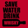 Save Water drink Whisky - Men's Premium Tank