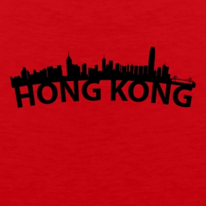 Arc Skyline Of Hong Kong China - Men's Premium Tank