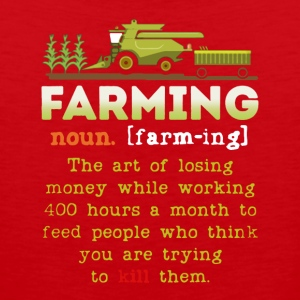 Farming Definition Shirt - Men's Premium Tank