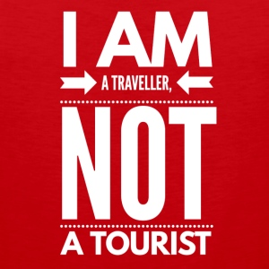 Traveller Not Tourist - Men's Premium Tank