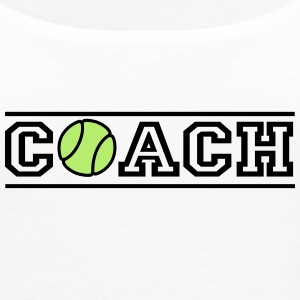 Tennis Coach - Women's Premium Tank Top