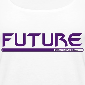 Future Download - Women's Premium Tank Top