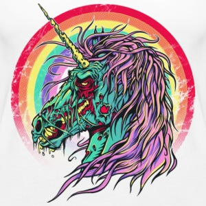 Zombie Unicorn Gift Shirt Pre - Women's Premium Tank Top