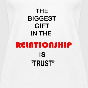 Relationship Trust - Women's Premium Tank Top