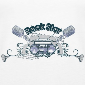 Rock Star - Women's Premium Tank Top
