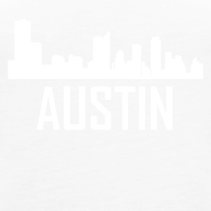 Austin Texas City Skyline - Women's Premium Tank Top