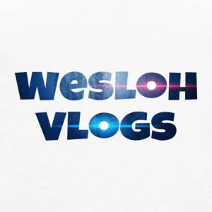 Wesloh Vlogs Word Logo - Women's Premium Tank Top
