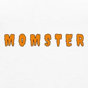 Momster Spooky Halloween Mom T-Shirt - Women's Premium Tank Top