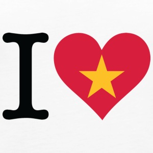 I Love Vietnam - Women's Premium Tank Top