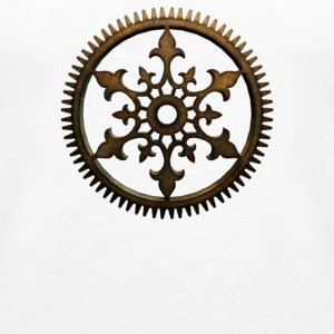 Steampunk Cog - Women's Premium Tank Top