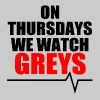 On Thursdays we watch Greys - Women's Premium Tank Top