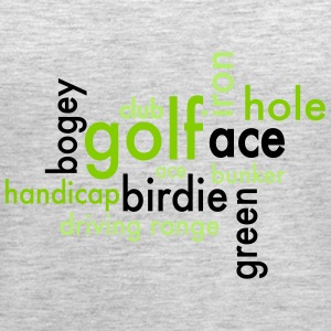 Golf - Women's Premium Tank Top