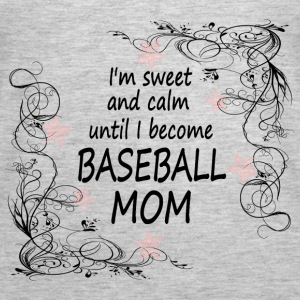 BASEBALL MOM2 - Women's Premium Tank Top