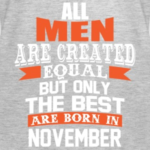 All Men Are Created Equal But Only in November - Women's Premium Tank Top