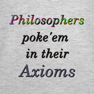 Philosophers poke'em in their Axioms - Women's Premium Tank Top