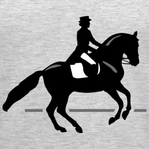 Dressage Rider - Women's Premium Tank Top