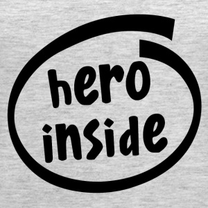 hero inside (1802A) - Women's Premium Tank Top