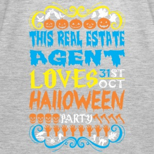 This Real Estate Agent Loves 31st Oct Halloween - Women's Premium Tank Top