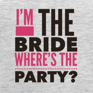 Im the bride where's the Party - Women's Premium Tank Top