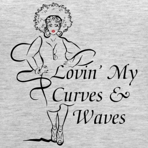 Curves & Waves - Women's Premium Tank Top
