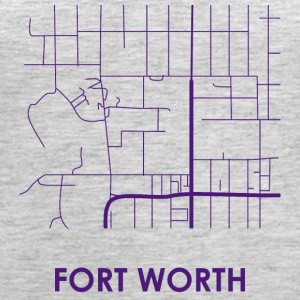 Fort Worth Streets - Women's Premium Tank Top