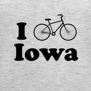 iowa biking - Women's Premium Tank Top