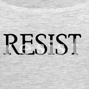 resist 002 - Women's Premium Tank Top