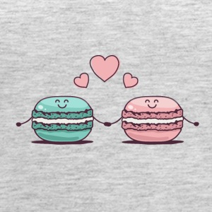 Macarons Couple - Women's Premium Tank Top