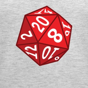 20 Sided Dice - Women's Premium Tank Top