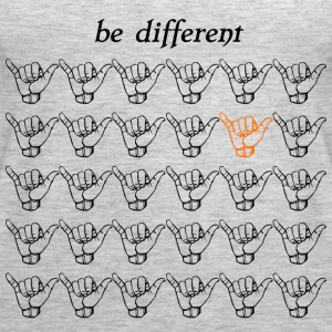 Be different Tranquilo - Women's Premium Tank Top