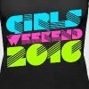 Girls weekend 2016 bachelorette party weekend - Women's Premium Tank Top