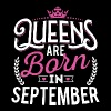 Born Birthday Bday Queens September - Women's Premium Tank Top