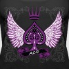 Ace Ornate LGBT Asexual Pride - Women's Premium Tank Top