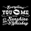 Sunshine & Whiskey - Women's Premium Tank Top