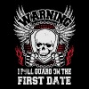 I pull guard on the first date - Women's Premium Tank Top