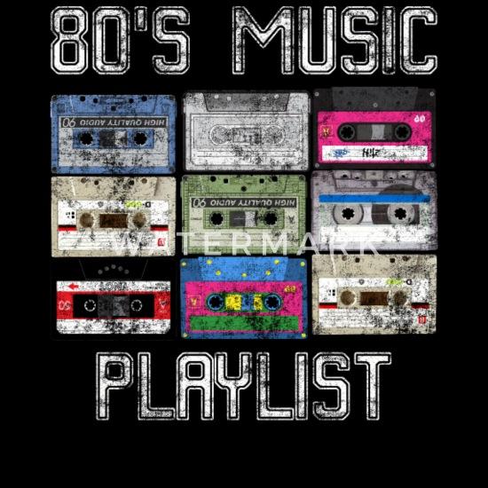 Cassette 80's Music Playlist Grunge Women's Premium Tank Top