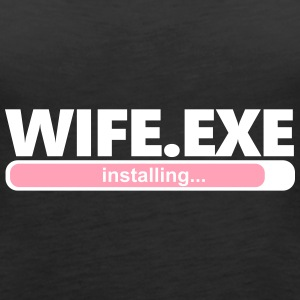 Installing Wife.exe (1066V) - Women's Premium Tank Top