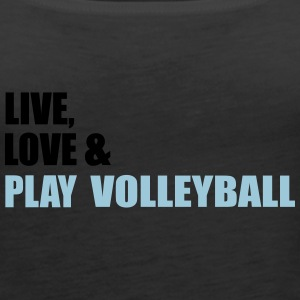 volleyball - Women's Premium Tank Top