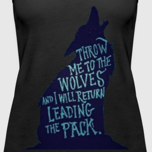 Wolf Pack Quote - Women's Premium Tank Top