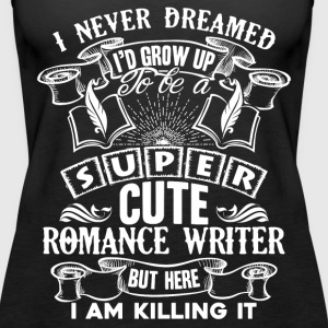 Romance Writer Shirt - Women's Premium Tank Top