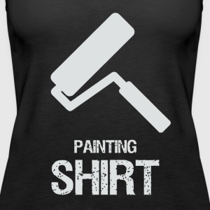 Painting with roller - Women's Premium Tank Top