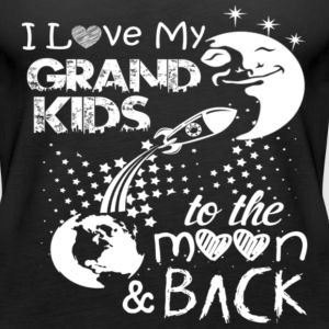 I LOVE GRAND KIDS - Women's Premium Tank Top