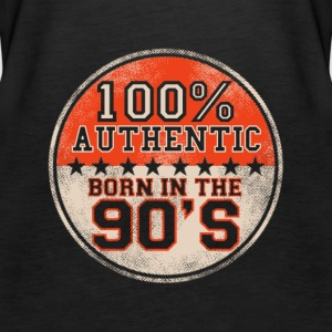 100% Authentic Born in the 90's - Women's Premium Tank Top