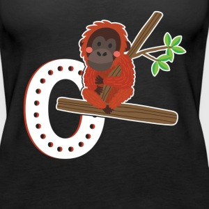 Orangutan Shirt - Women's Premium Tank Top