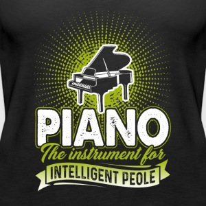 Piano Tee Shirt - Women's Premium Tank Top
