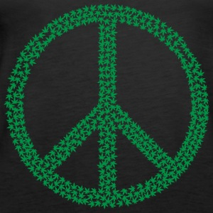 Marijuana Peace - Women's Premium Tank Top