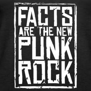 FACTS ARE THE NEW PUNK ROCK haz d mujica - Women's Premium Tank Top