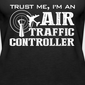 Air Traffic Controller Shirt - Women's Premium Tank Top