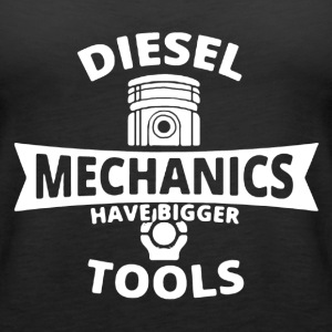 Diesel Mechanic Shirt - Women's Premium Tank Top